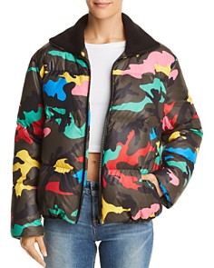 Kendall + Kylie - Camo Puffer Jacket - 100% Exclusive
