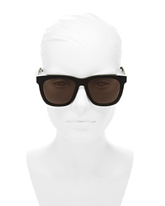 Saint Laurent - Unisex Square Sunglasses, 55mm