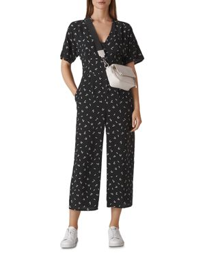 Whistles Camilla Print Jumpsuit