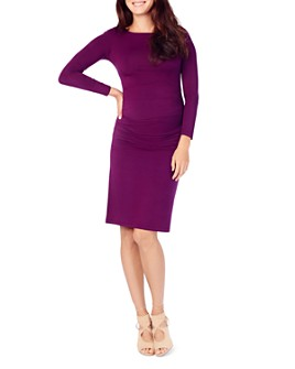 Ingrid & Isabel - Maternity Ruched-Side Dress