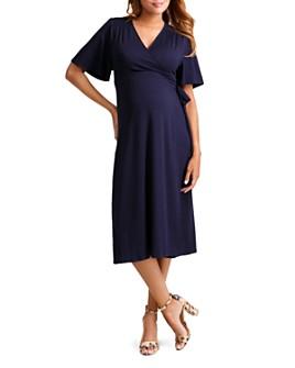 Ingrid & Isabel - Maternity Flutter-Sleeve Wrap Dress