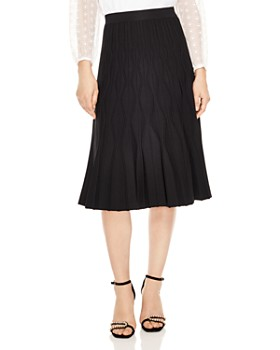 Sandro - Henzo Textured Midi Skirt