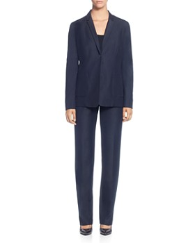 T Tahari - Wendy One-Button Blazer