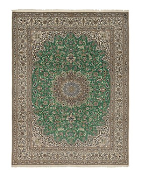 """Solo Rugs - Nain Dina Hand-Knotted Area Rug, 9'6"""" x 12'8"""""""