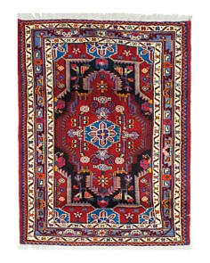 "Solo Rugs - Torkaman Lovell Hand-Knotted Area Rug, 3' 5"" x 4' 2"""
