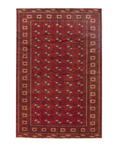 """Solo Rugs - Torkaman Rebekah Hand-Knotted Area Rug, 8' 3"""" x 12' 8"""""""