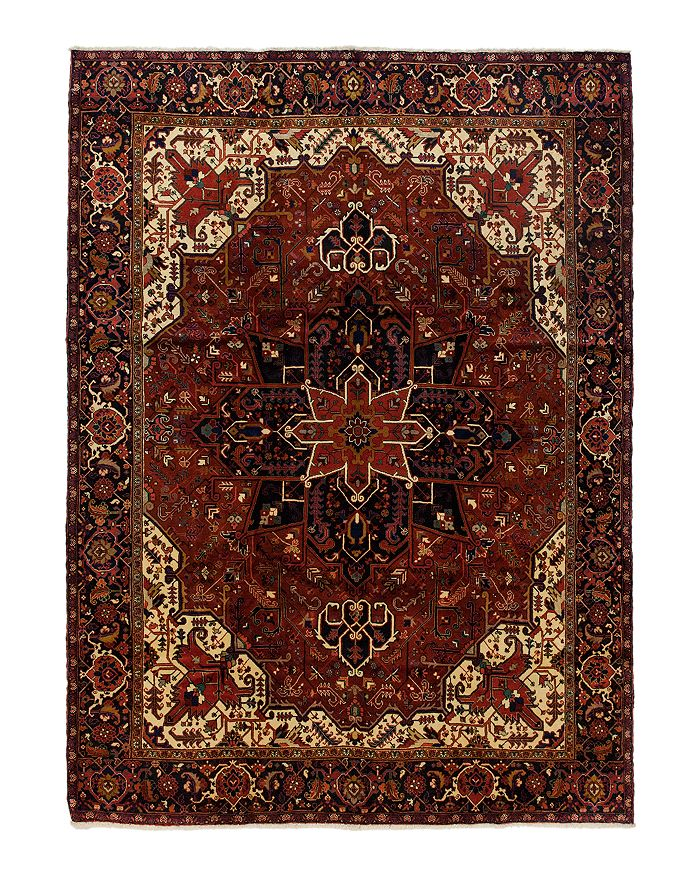 Solo Rugs Sarouk Bernice Hand Knotted