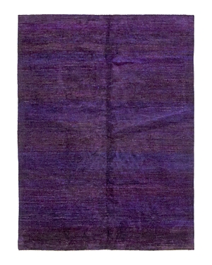 Solo Rugs Sari Silk Strasbourg Hand-Knotted Area Rug, 9' 1 x 12' 0