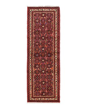 """Solo Rugs - Hamadan Robin Hand-Knotted Runner Rug, 2'3"""" x 6'8"""""""