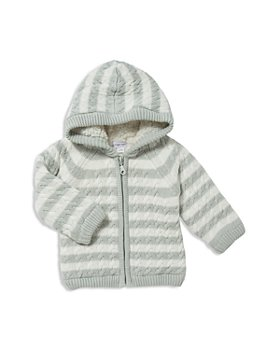 Angel Dear - Unisex Sherpa-Lined Knit Jacket - Baby