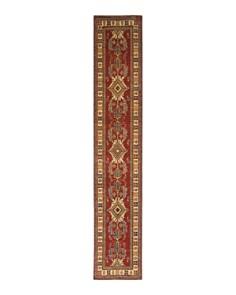 """Solo Rugs - Kazak Tusheti Hand-Knotted Runner Rug, 2'8"""" x 15'7"""""""
