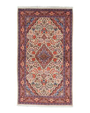Solo Rugs Malayer Ethel Hand-Knotted Area Rug, 3'5 x 5'5