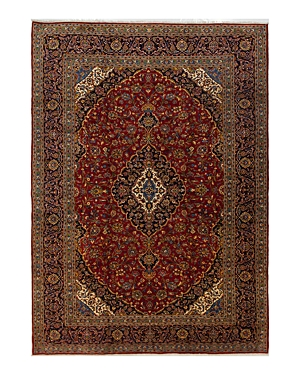 Solo Rugs Kashan Zola Hand-Knotted Area Rug, 10'6 x 15'0