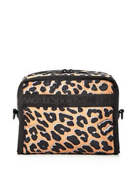 LeSportsac - Taylor North/South Leopard Print Cosmetics Case