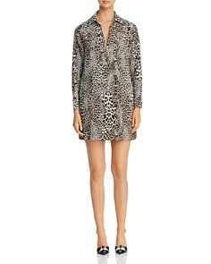 Badgley Mischka - Leopard Print Shirt Dress - 100% Exclusive