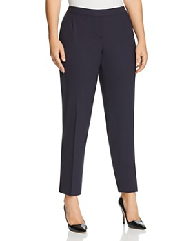Lafayette 148 New York Plus - Straight Ankle Pants
