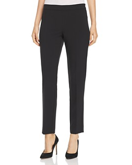 Donna Karan - Straight-Leg Ankle Pants
