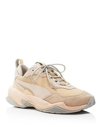 PUMA - Women's Thunder Drift Leather & Suede Lace Up Sneakers