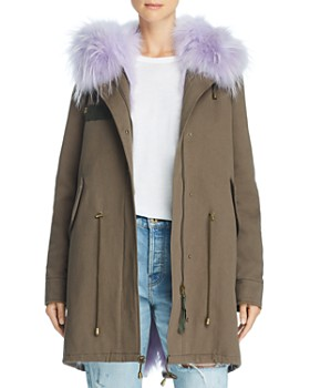 Peri Luxe - Fur-Trimmed Parka - 100% Exclusive