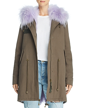Peri Luxe Fox Fur-Trimmed Parka - 100% Exclusive