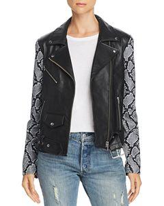 a71f1c22d6fe PAIGE Annika Leather Moto Jacket