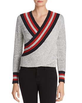 C/MEO Collective - Faux-Wrap Sweater