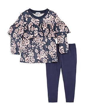 Splendid Girls Floral Top  Leggings Set  Baby