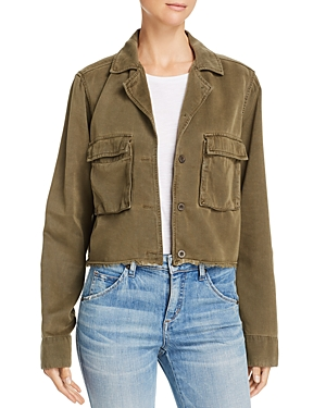 Bella Dahl Cropped Military Jacket