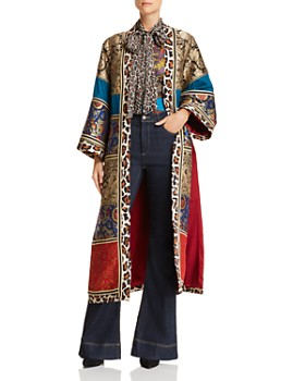 Alice and Olivia - Lynn Patchwork Kimono