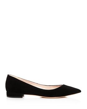 Giorgio Armani - Women's Pointed Toe Ballet Flats