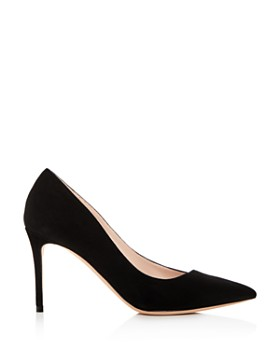 Giorgio Armani - Women's Decolette Leather Pointed Toe Pumps