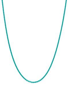 "Dodo - Sterling Silver Chain Necklace, 15.7"""