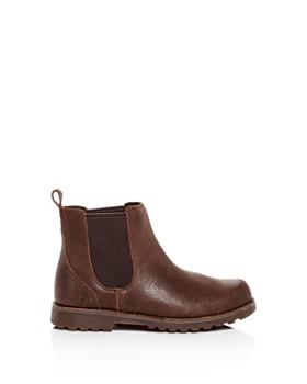UGG® - Boys' Callum Cracked Leather Boots - Little Kid, Big Kid