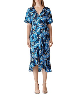 Whistles - Josephine Print Wrap Dress