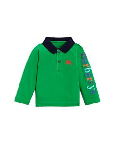 Burberry - Boys' Laird Color-Block Logo Polo Shirt - Baby