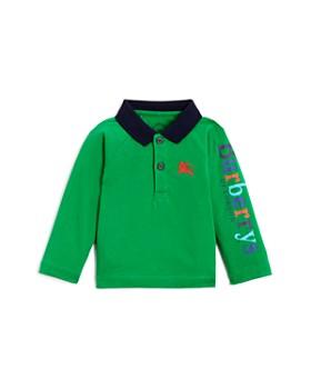 Burberry - Boys' Laird Color-Block Logo Polo Shirt - Baby