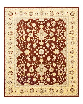 """Solo Rugs - Oushak Magda Hand-Knotted Area Rug, 8'1"""" x 9'9"""""""