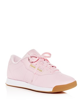 Reebok - Women's Princess Leather Lace-Up Sneakers