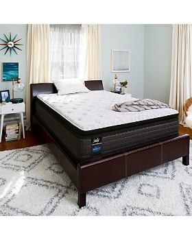 Sealy Posturepedic - Adams Street Cushion Firm Euro Pillowtop Mattress & Box Spring Sets - 100% Exclusive