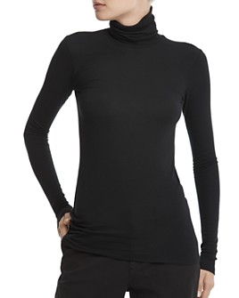 ATM Anthony Thomas Melillo - Ribbed Turtleneck Top