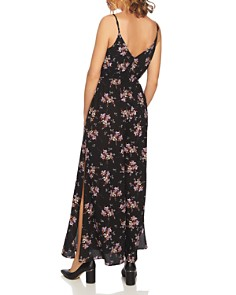 1.STATE - Wildflower Slit-Leg Jumpsuit