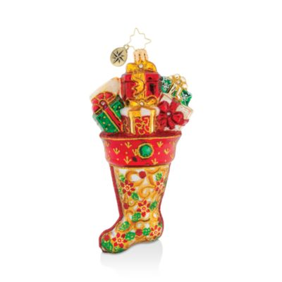 Majestic Stocking Stuffers Ornament by Christopher Radko