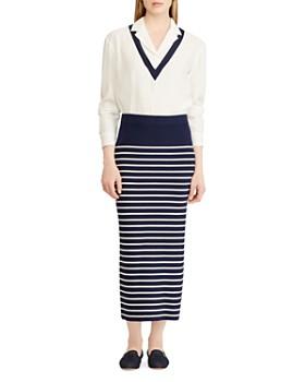 Ralph Lauren - Sweater-Knit Midi Skirt