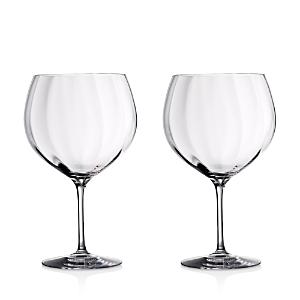 Waterford Elegance Optic Balloon Gin Glass, Set of 2