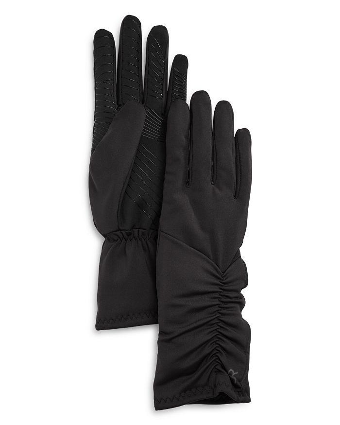 U|R - uched Faux Fur-Lined Tech Gloves