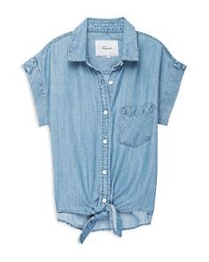 Rails - Girls' Amy Tie-Front Shirt - Big Kid