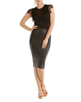SPANX® - Faux Leather Pencil Skirt