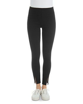 Lyssé - Split Hem Denim Leggings