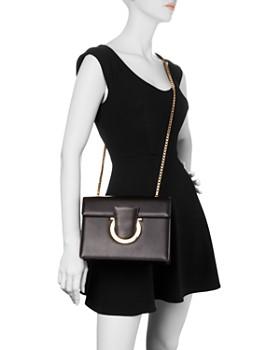 Salvatore Ferragamo - Thalia Medium Leather Convertible Shoulder Bag