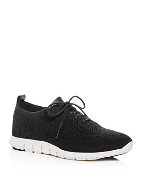cf613e42980 Cole Haan - Women's ZeroGrand Stitchlite Knit Lace-Up Oxford Sneakers ...
